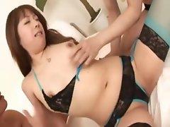 tight fucking of sleek asian pussy