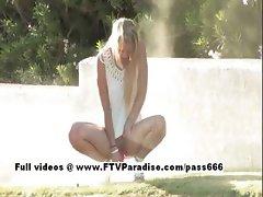 Liz ingenious gorgeous blonde flashing