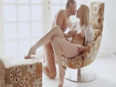 elegant art sex on the special chair