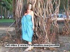 Isabella ingenious brunette posing