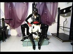 Hot slave girl loves to be dominated