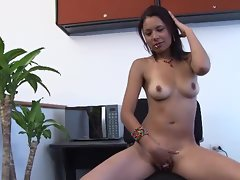 Cecilia juicy porn star in her first casting