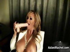 Amazing busty woman finger fucks part6