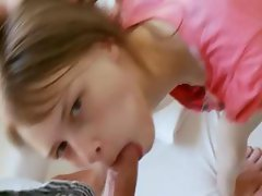Hardcore teen sex with her cameraman