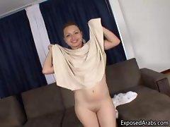 Big booty Arabian slut loves to suck part5