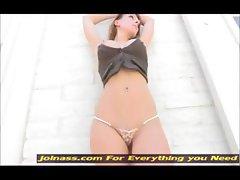 Leann flashing public nudity ftv girl