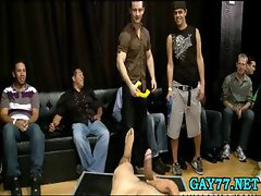 Horny gay boys at party