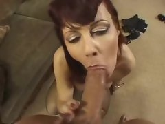 Sensational fucking of this naughty cougar slut
