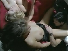 Interracial orgy includes BJs and anal
