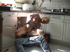 Plumber with big cock fucks the housewife