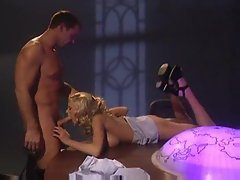 Blonde pornstar Briana Banks ass fucked