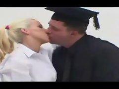 The dean fucks the slutty schoolgirl so deep