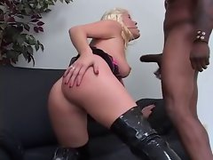 Missy Monroe Hot BBC Action In Thigh High Boots