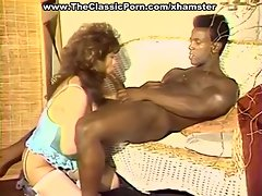 Busty girl fun for black macho
