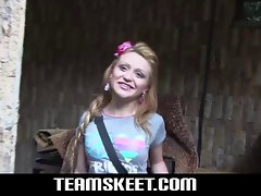 Oyeloca Blonde latina teen Tatiana Garcia first time hardcor