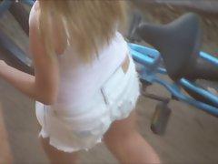 Street Candid NN Down blouse 02