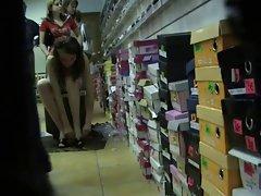 Upskirt Shoe Store 7