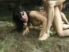 Sex in mud - Les Randonneuses Encules