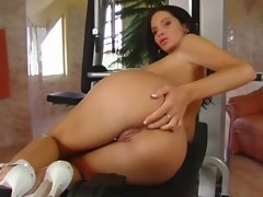 Gloria - anal creampie