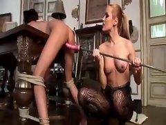 Danika and Sophie Moon in lesbian femdom