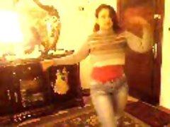 Arab Egyptian whore wife dancing dirty dance