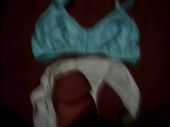 teens dirty panties and bra getting jerked off over