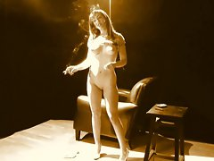 Jennifer, nude &amp, smoking