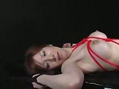 Cute japanese office girl BDSM