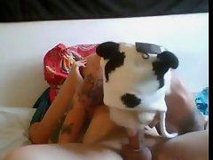 Spanish porn actress fucking on cam