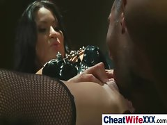 Big Tits Housewife Get Nailed Hard video-34