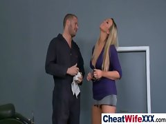 Big Tits Housewife Get Nailed Hard video-01