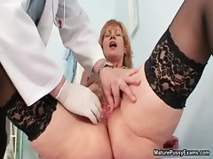 Dirty mature woman gets
