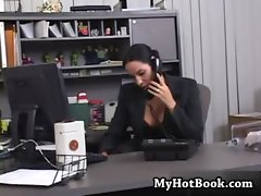 Veronica Rayne is a lusty  luscious secretary with
