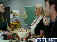 Teachers And Students Get Hard Fucked video-28