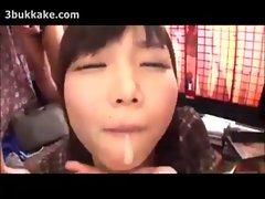 Cute Bukkake Lover