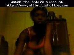 Sexy Ebony Teen Booty Shaking Nude  british euro brit european cumshots swallow