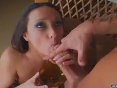 Hot michelle lay loves pumping some nice hot big slug