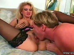 Two blonde sluts engage in wild sexcapades