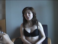 Japanese girl gets finger fucked and sucks and fucks hard cock
