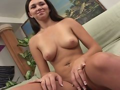 Amazing teen brunette vanilla skye audition