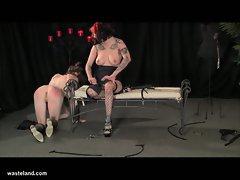 Horny lesbian hustlers mistress bella vendetta and bondage betty