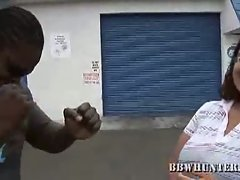 Hot slutty babe jewelz wants some big black dick