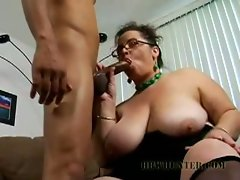 Busty office girl shianna wants to suck some huge cock