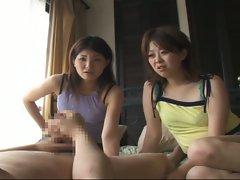 Amateur japanese sluts sharing daddy's sweet boner