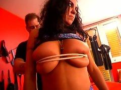 Two nasty sluts gets punished