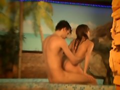 These two teens have the whole house to themselves or at least that`s...