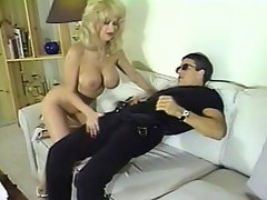 This beautiful horny blond gave her boyfriend a ravishing treat with...