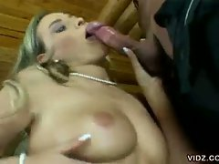 Even Victoria Swinger is young, she flawlessly can perform the...