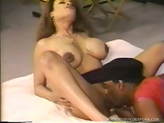 Busty whore Taylor Dante chokes with a rock hard penis then gets...