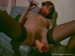 Susie is horny and looking for a good time.  Watch her play with her...